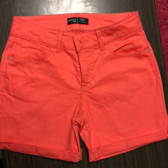 Riders by Lee Pants - Pink Riders Lee Mid Rise Shorts